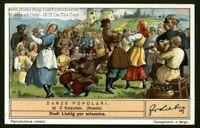 Kujawiak Dance Russia Poland Music Art History Dress 1930s Trade Ad Card