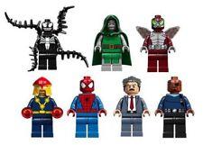"LEGO DC/MARVEL HEROES & VILLIANS ""CHOOSE YOUR MINI FIGURES"" NEW  FREE POST"