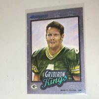 F54053  2002 Donruss Gridiron Kings Studio Inserts #GK4 Brett Favre /250 Packers