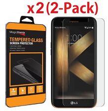 2-Pack PremiumTempered Glass Film Screen Protector for LG K10 (2017) / K20 Plus