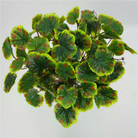 Artificial Jellyfish Leaf Plant  Begonia Leaves Plastic Flowers Wall  Decor J