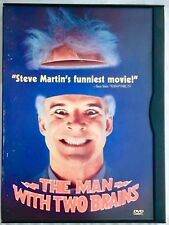 The Man With Two Brains DVD Steve Martin Kathleen Turner Carl Reiner Film