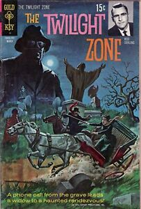 THE TWILIGHT ZONE #36 -1971 March GOLD KEY - BRONZE AGE COMICS - ROD STERLING