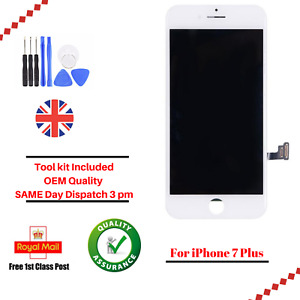 iPhone 7 Plus White LCD OEM Digitizer Screen Assembly Replacement Touch