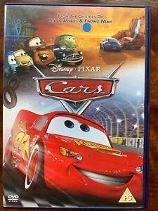 Cars DVD 2006 Walt Disney Pixar Animated Family Movie Feature Film Classic