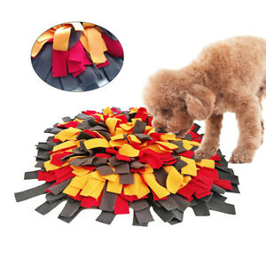 Dog Nose Training Sniffing Pet Mat Feed Cushion Blanket Snuffle Pad Puzzle Toy