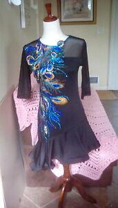 Latin ballroom competition dress