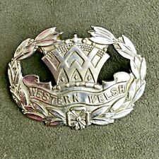 WESTERN WELSH BUS CAP BADGE