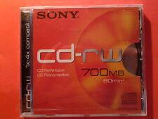 Sony cd-rw 700MB 80 min 6 pz