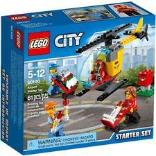 Nuevo Lego Aeropuerto Básico 60100 Set Caja Sellada Ciudad City Helicóptero