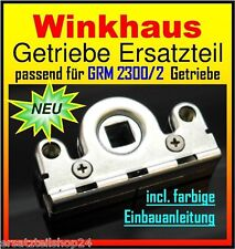 Winkhaus Ersatzteil Getriebe Schneckengehäuse f. Balkontüre Beschlag GRM 2300/2