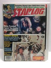 Starlog Magazine #78 (VF/NM) Brainstorm w/ fold out Road Warrior scene