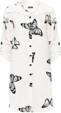Butterfly Fastening Polyester Tops & Shirts for Women's
