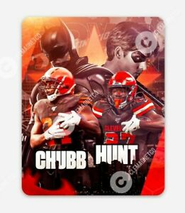 Batman and Robin Nick Chubb Kareem Hunt MAGNET - Cleveland Browns NFL CLE