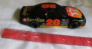 NASCAR: DAVEY ALLISON TEXACO RACE CAR DIE-CAST BANK (Racing Champions-1993)