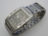 GENUINE PIAGET SOLID STEEL UPSTREAM CHRONOGRAPH BAND BRACELET WATCH