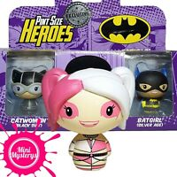 DC Funko Pint Size Heroes Exclusive 3 Pack inc Catwoman, Batgirl, Harley Quinn