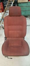 87-95 Nissan Pathfinder D21 Passenger Right Front Bucket Seat Complete Red OEM