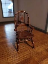 DOLLHOUSE MINIATURE  REMINISCENCE ARM CHAIR