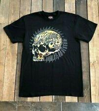 Harley-Davidson Hombre Calavera de Negro Distribuidor Camiseta Chaleco Preston Inglaterra