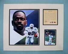 Dallas Cowboys EMMITT SMITH 1997 NFL Football 11x14 Matted Lithograph Print