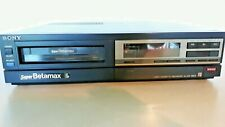 Sony Sl-250 Vintage SuperBetamax Vcr With Original Box and Manual