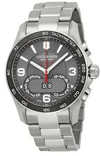 Swiss Army Victorinox Chronograph Stainless Steel Mens Watch 241618