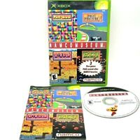 Namco Museum Microsoft Xbox Complete Tested Excellent Pac-Man 2001 Compilation