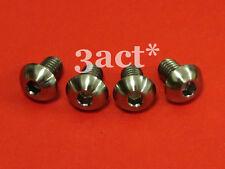 4 pcs M5 x 8mm Titanium / Ti Bolt fit Elite Carbon, FSA, Bontrager Bottle Cage