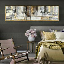 "HH421 Wall decor Huge abstract canvas oil painting Hand-painted Unframed 24""x72"""