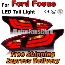 Red LED Rear Break Tail Lamp Light Assy For Ford Focus Sedan 2012 2013 2014 2015