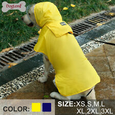 Waterproof Dog Raincoat Pet Raining Jacket Clothes Coat Vest