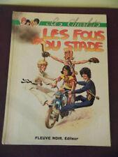 BANDE DESSINEE LES FOUS DU STADE LES CHARLOTS 1972