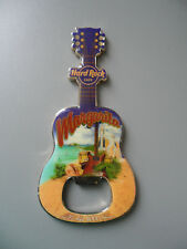 Hard Rock Cafe - MARGARITA - City Tee Design Guitar & Logo Magnet Bottle Opener
