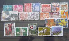 Briefmarken schönes Lot Schweiz mit sehr alten Marken gestempelt