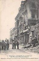B92345 salonique incendie des 18-19-20 1917 place de la liberte greece