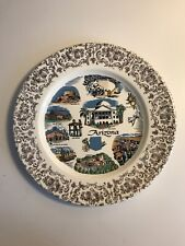Vintage Arizona State collector's plate 9.25""
