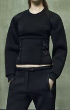 Alexander wang X H&M Black Top Jumper  US6  UK10 ❤️❤️❤️