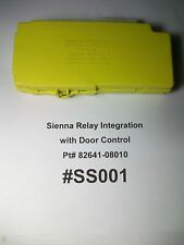 TESTED 1999 Toyota Sienna Relay Integration with Door Control Pt#  82641-08010