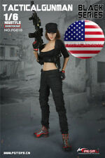 """1/6 Tactical Military Combat Clothing Set For 12"""" PHICEN Hot Toys Female Figure"""
