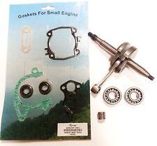 Crankshaft For Stihl ts420, ts410 bottom end rebuilt kit, bearings, gasket set