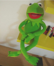 Kermit the Frog Full Body soft stuffed Puppet Toy NEW