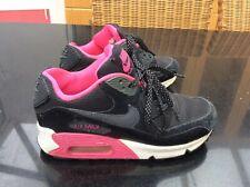 Women's Ladies Girls Nike Air Max 90 Mesh (GS) Trainers - UK 3