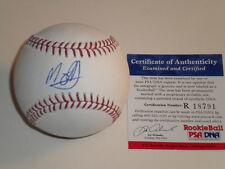 Manny Machado San Diego Padres PSA DNA ROOKIE COA Signed Baseball MLB Hologram 1
