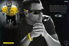 LANCE ARMSTRONG OAKLEY POSTER RADIOSHACK LIVESTRONG