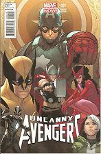 Uncanny Avengers #1   Variant  C  Marvel Now !
