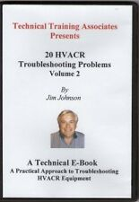 20 HVACR Troubleshooting Problems Volume 2 (E-BOOK) on CD