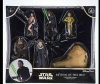 DISNEY PARKS STAR WARS RETURN OF THE JEDI Playset Figures Luke Han Solo LEIA