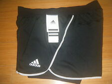 Women's ADIDAS Core 2 IN 1 TENNIS RUNNING Training FITNESS SHORTS XS-L CLIMALITE
