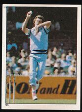 1983 Scanlens Cricket Sticker unused number 95 Bob Willis